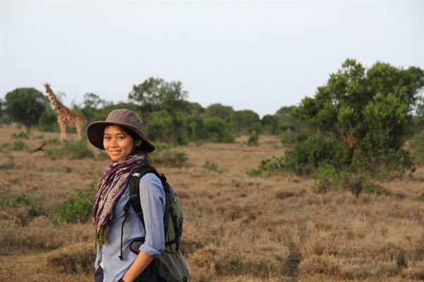 Conservation scientist aims to inspire people to protect wildlife