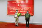 Đại tá Huỳnh Thới An làm Phó giám đốc Công an TP Cần Thơ