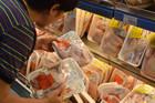 'Sốc' với giá gà rẻ như rau, chỉ 8.000 đồng/kg