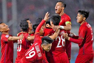 Vietnam national football team in top 15 in Asia