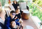 Long Nhật về Hải Phòng làm điều đặc biệt cho vợ Hoa khôi và 4 con