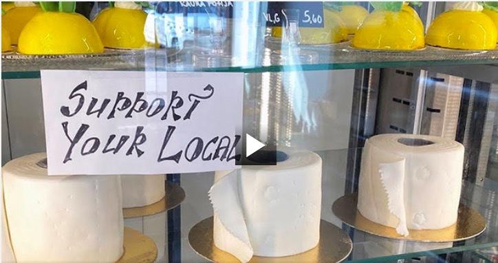 Bánh 'giấy vệ sinh'- cứu tinh của doanh nghiệp nhỏ thời Covid-19