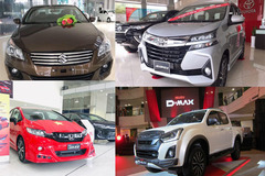 """10 xe vắng khách nhất tháng 3: Giảm giá trăm triệu vẫn """"bết bát"""" doanh số"""