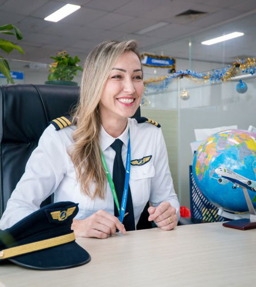 Women can realise the dream to fly