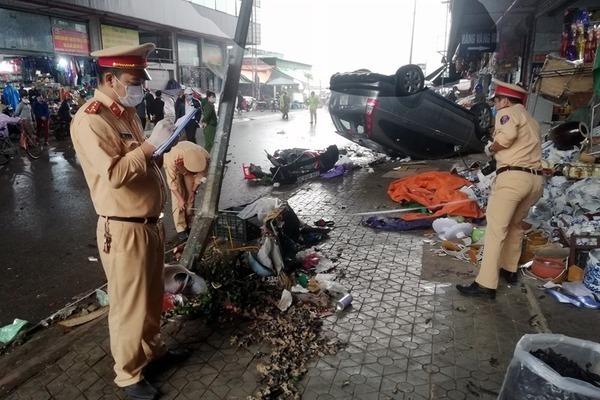 96 người chết vì tai nạn giao thông trong 10 ngày