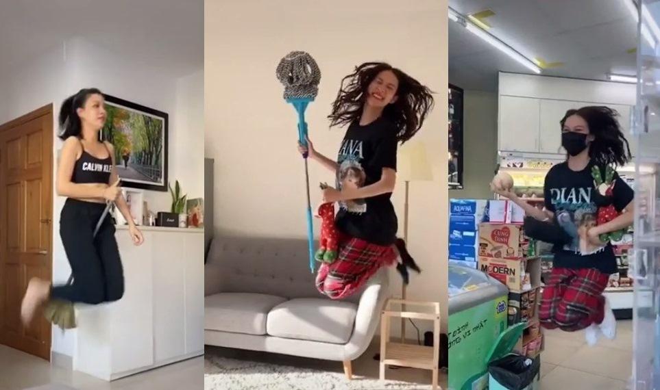 Bích Phương, Khổng Tú Quỳnh, Minh Hằng 'bắt trend' bay nhảy