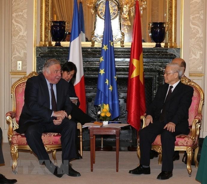 Visits promote Vietnam- France relations