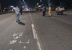 Bắt đua xe, một cảnh sát bị 'quái xế' tông trúng, phải cưa chân