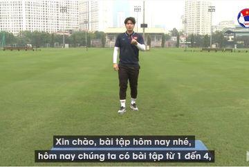 HLV Park Sung Gyun hướng dẫn tập thể lực tại nhà   Bài số 5