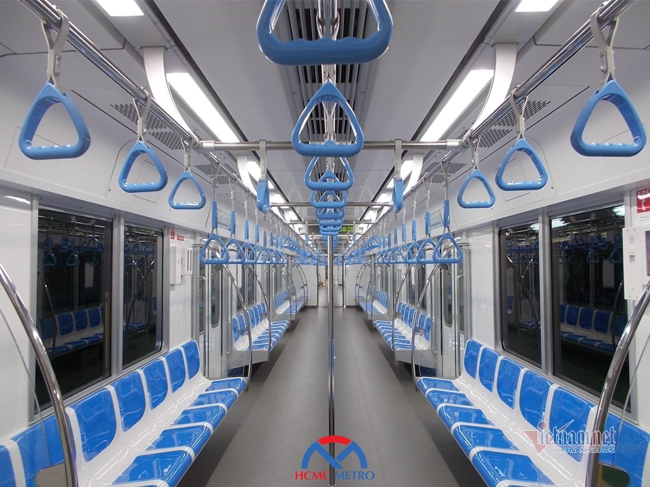 Hình ảnh đoàn tàu đầu tiên tuyến metro số 1 sắp về Việt Nam