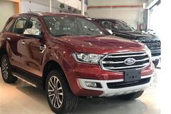Mới ra mắt thị trường, Ford Everest phiên bản mới đã hạ giá sâu bất ngờ