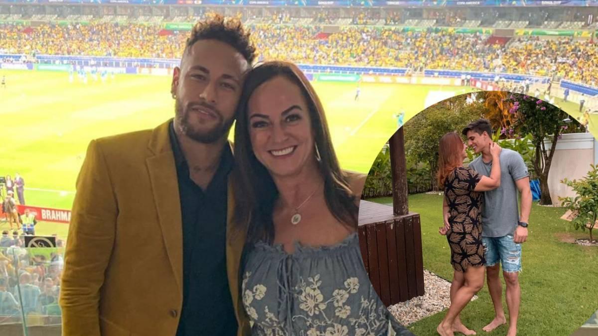 Bí mật người tình 22 tuổi của mẹ ruột Neymar