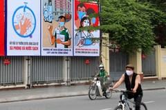 Posters raise public awareness of COVID-19 in Vietnam