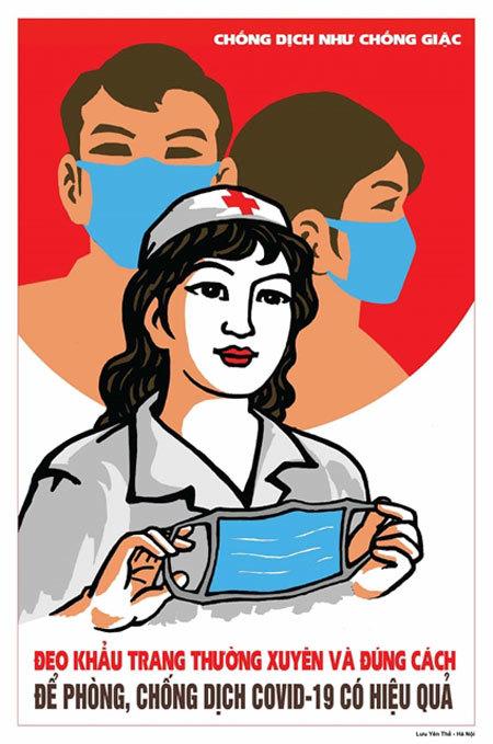 British newspaper runs story on Vietnamese COVID-19 posters