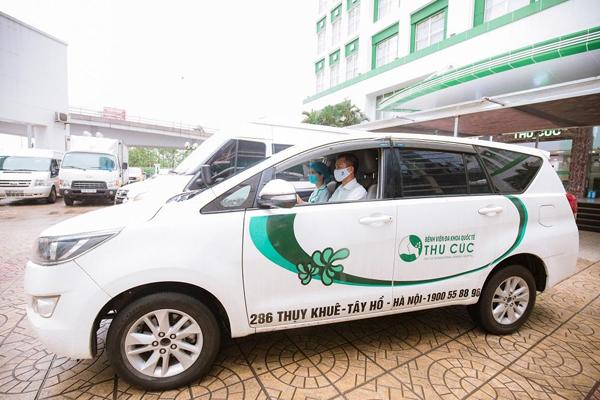 Thu Cúc khám chữa bệnh online miễn phí, hỗ trợ chi phí sinh con và xe đưa đón