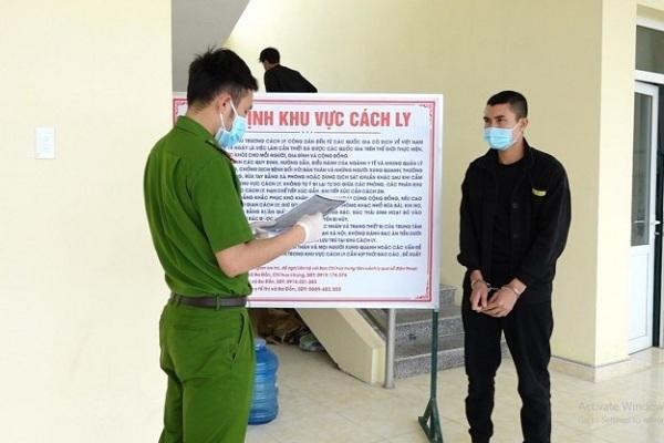 Phát hiện kẻ bị truy nã trong khu cách ly ở Quảng Bình