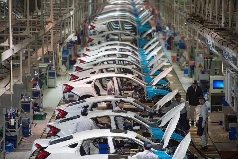 Thị trường ô tô Trung Quốc đang dần vực dậy sau 2 tháng lao dốc