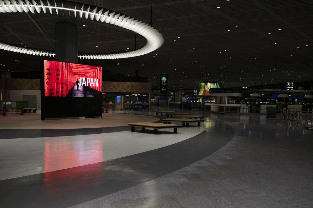 Sân bay quốc tế đông đúc hàng đầu thế giới ở Nhật vắng tanh vì Covid-19