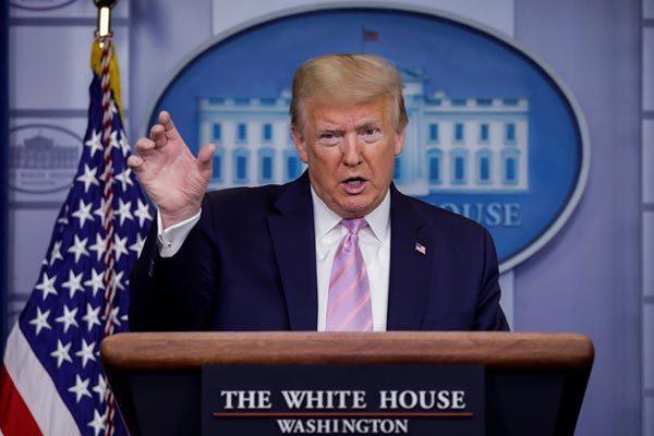 Ông Trump nổi trận lôi đình, khẳng định toàn quyền dỡ phong tỏa chống Covid-19