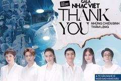Hơn 70 nghệ sĩ Việt gửi lời cảm ơn đặc biệt đến các y bác sĩ