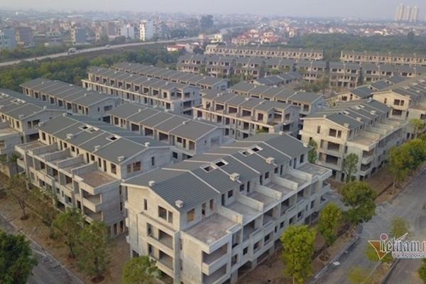 Loạt sai phạm tại khu biệt thự và nhà phố vườn Vạn Tuế ở Hưng Yên
