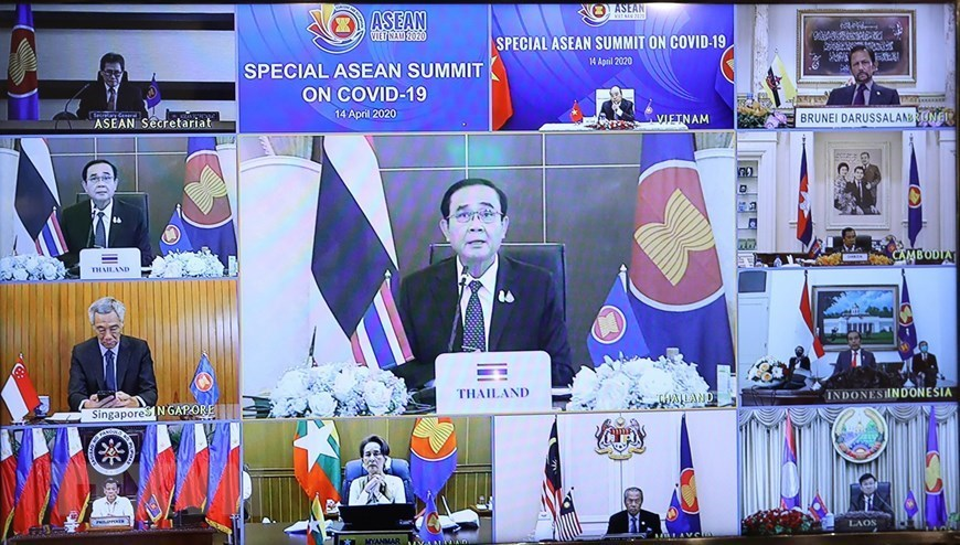 Special ASEAN Summit on COVID-19 in pictures