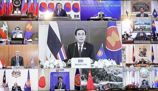 ASEAN chief hails Vietnam's leadership in regional response to COVID-19
