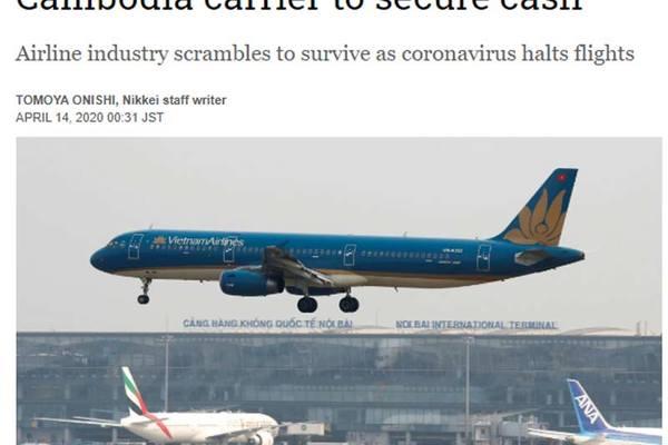 Hãng hàng không lớn nhất Việt Nam muốn rút vốn đầu tư ở Campuchia