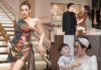 Cưới thiếu gia, sinh con trai, á hậu Tú Anh sống sung sướng như 'bà hoàng'