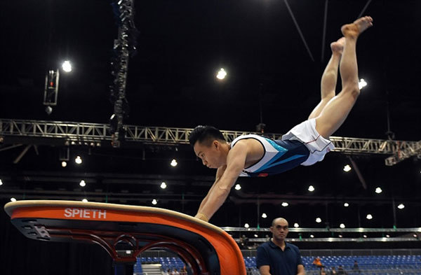 Olympics delay helps medal chance, says gymnast Tung