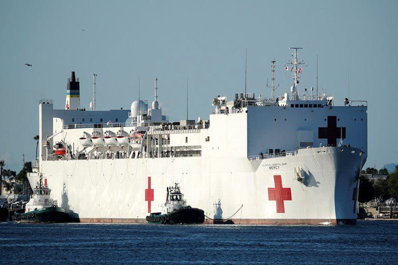 Hải quân Mỹ đau đầu vì ổ dịch Covid-19 bí ẩn trên 'bệnh viện nổi'