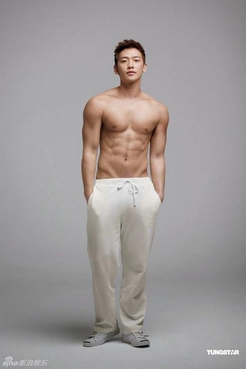 Bi Rain - ông bố 2 con body 6 múi chiều vợ Kim Tae Hee hết mực