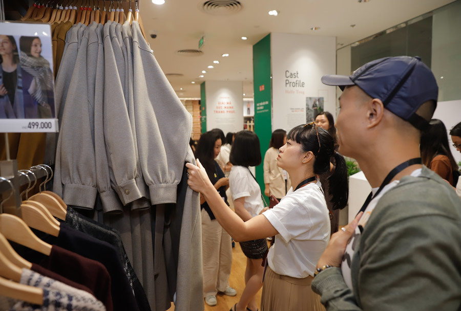 More foreign fashion brands come to Vietnam