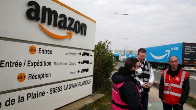 Coronavirus: Amazon shuts French warehouses after court ruling