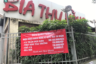 Quán nhậu nổi tiếng Hà Thành hé cửa bán bia cho khách mang về nhà