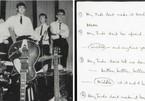 Lời viết tay ca khúc 'Hey Jude' của The Beatles đấu giá hơn 21 tỷ