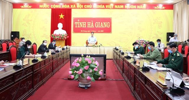 Hà Giang họp khẩn, cách ly hàng loạt địa điểm liên quan ca bệnh 268