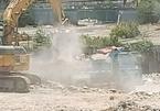 Bãi xà bần gây ô nhiễm tiếp tục hoạt động sau cam kết với UBND phường