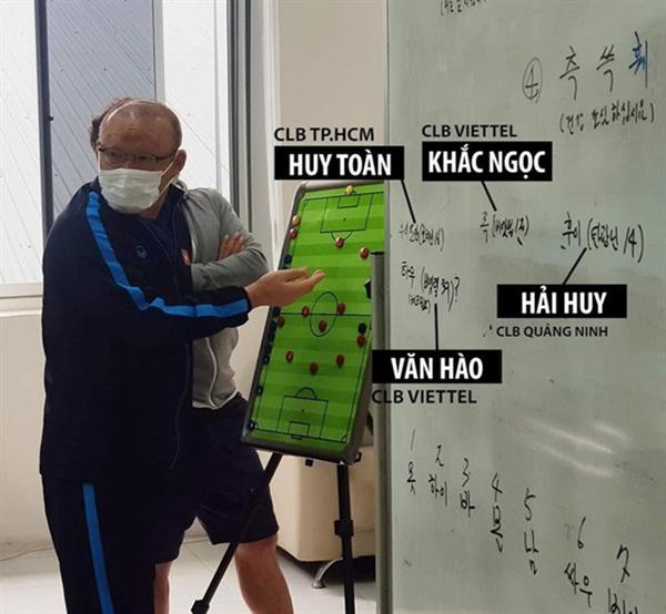 Coach Park Hang-seo,new players,Vietnamese national team