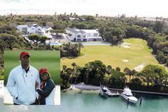 Tiger Woods cách ly Covid-19 trong biệt thự 54 triệu USD