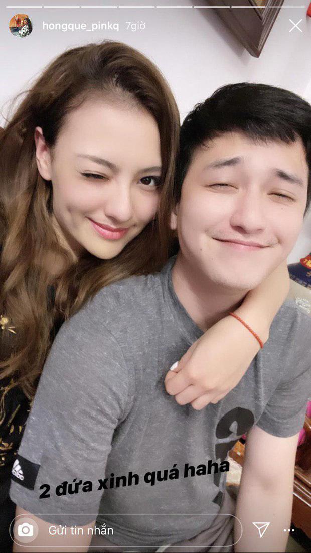 Huỳnh Anh: 'Nếu là người yêu của Hồng Quế cũng tuyệt vời'