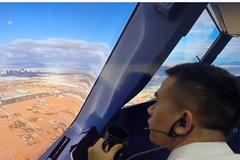 Ở nhà chống dịch: Hài hước cơ trưởng dựng clip hạ cánh máy bay tại nhà