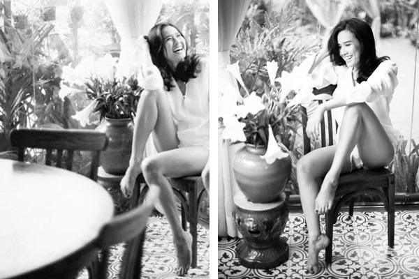 Hoa hậu Dương Mỹ Linh đăng ảnh gợi cảm