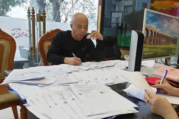 Công an Thái Bình làm việc với một loạt cơ quan liên quan vụ Nguyễn Xuân Đường