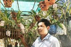 Xóm trồng lan rừng quý hiếm, tiền tỷ ngoài vườn vui ra ngắm chơi