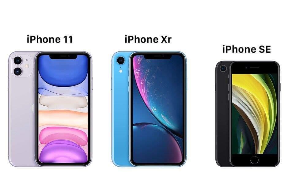 iPhone SE 2020 có gì để so kè với iPhone 11 và iPhone XR?