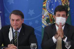 Bộ trưởng Y tế Brazil bất ngờ bị sa thải giữa lúc Covid-19 hoành hành