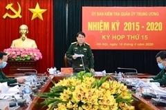 UB Kiểm tra Quân ủy Trung ương đề nghị kỷ luật 4 tổ chức, 23 cá nhân
