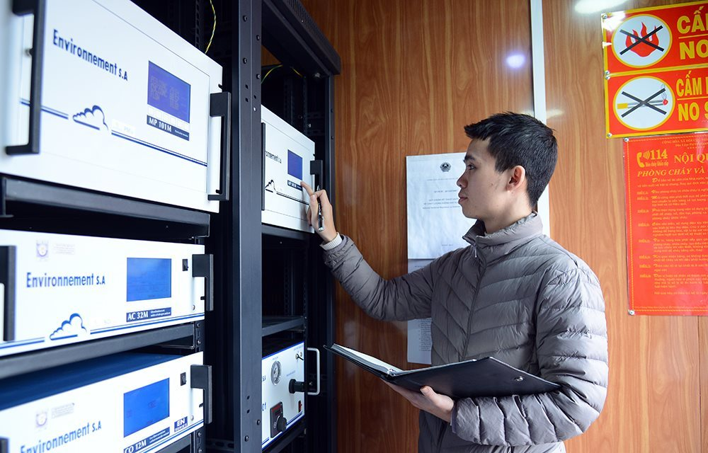 VN environment directorate general wants modern air monitoring systems