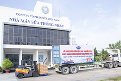 Vinamilk xuất khẩu sữa sang Trung Quốc giữa dịch Covid-19